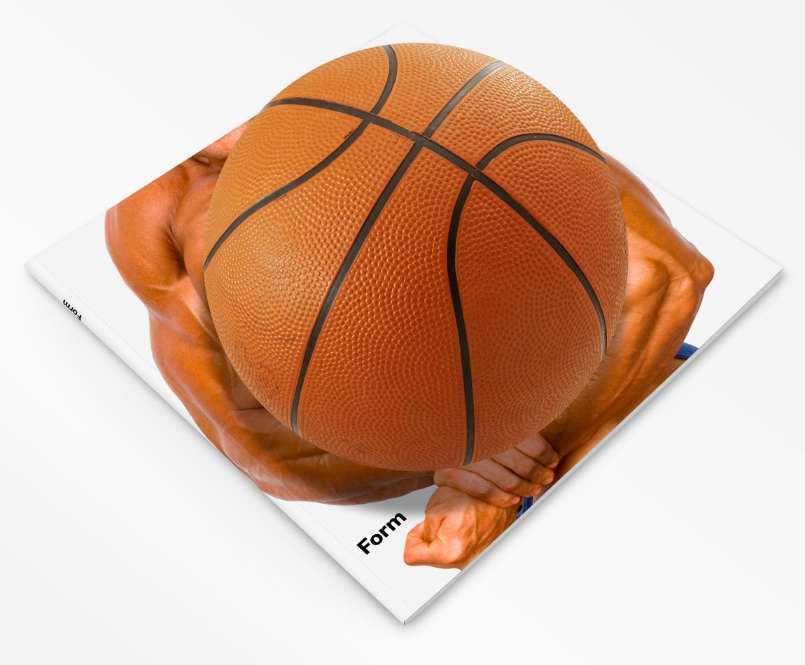 Aufgeblasener Brustball