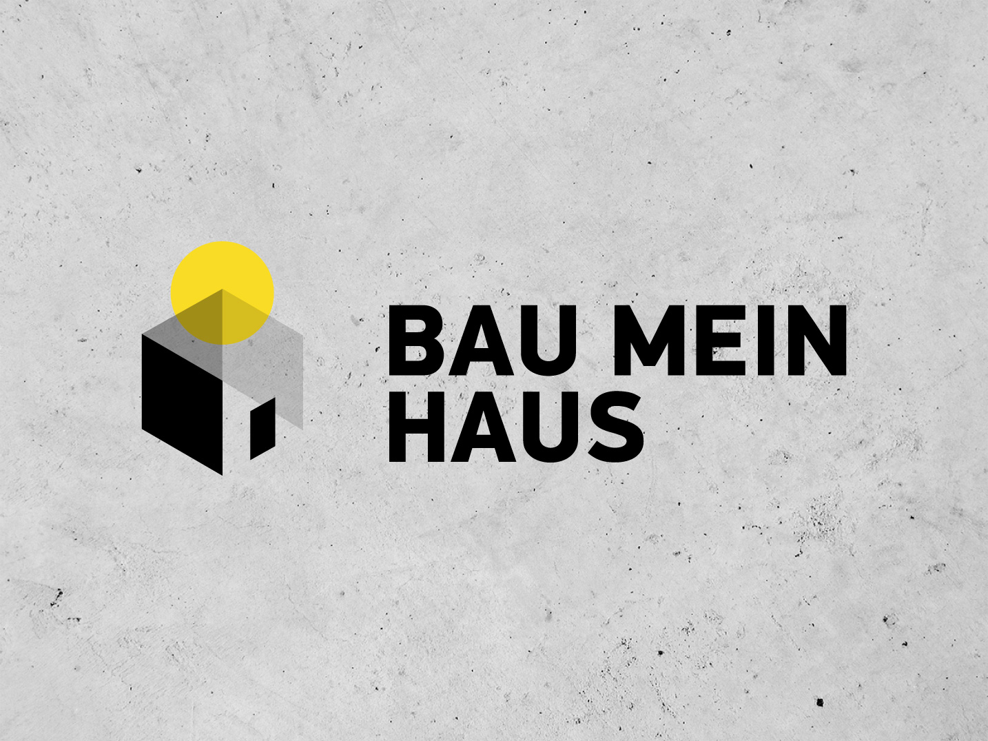 Bau mein Haus, Hausbau, Fertighaus, Logo — Rat in Sache ...