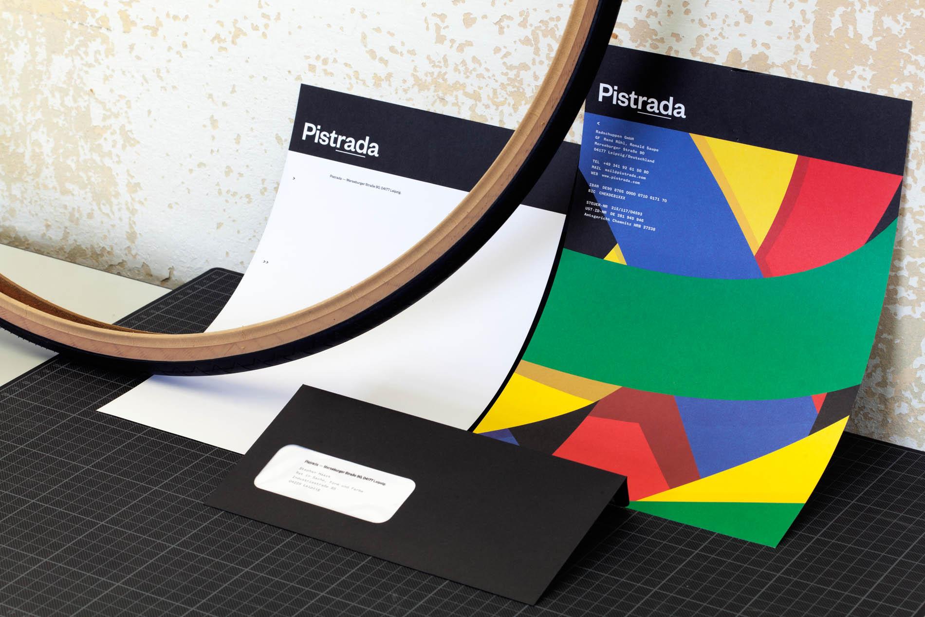 Briefbogen und Briefumschlag