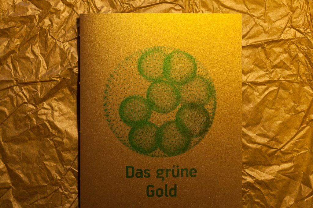 Das Grüne Gold - Illustration Algen